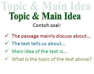 Mengenal Jenis Soal Bahasa Ingris