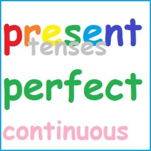 pengertian rumus dan contoh present perfect continuous tense