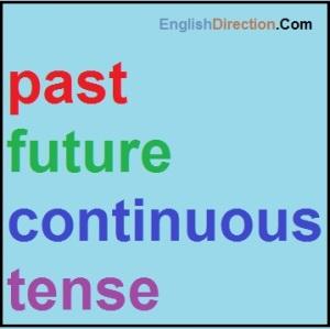 pembahasan contoh dan rumus past future continuous tense
